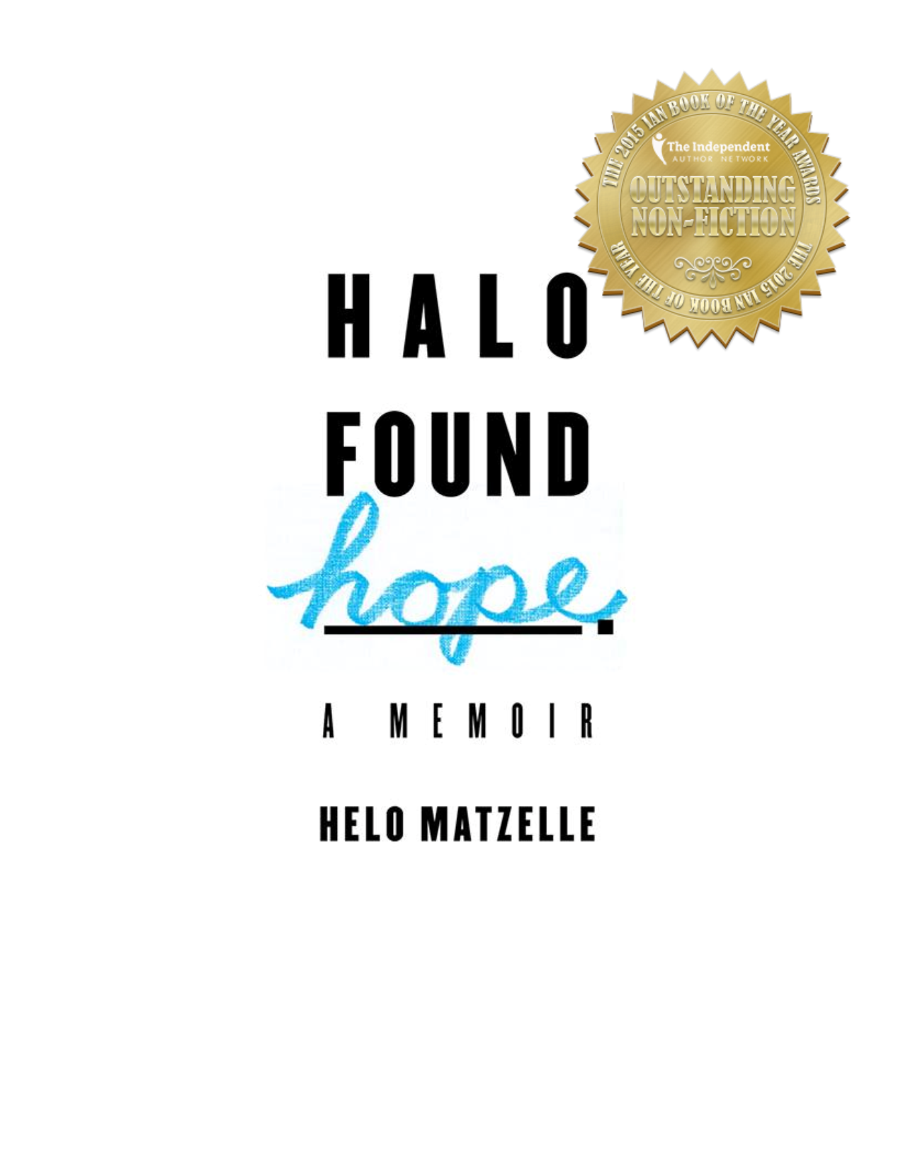 halo found hope award cover