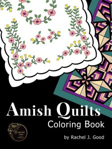 Amish Quilts Coloring BOOK cover
